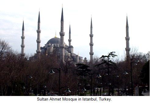 Ahmet Mosque In Turkey